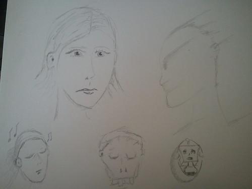Daily Doodle: quick random bits