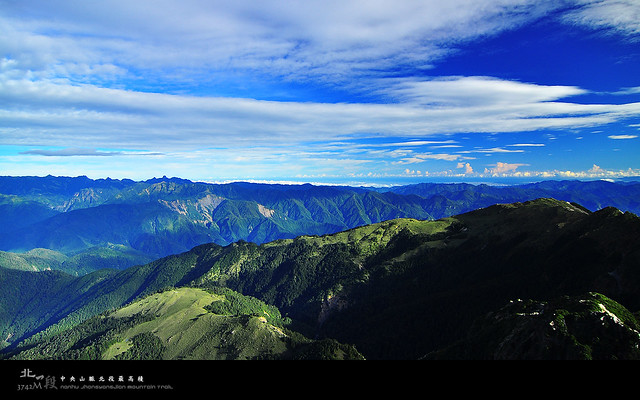 中央山脈北一段 南湖山區篇