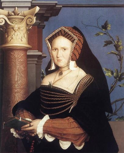 027- Portarretrato de Lady Mary Guildford 1527-Hans Holbein el Joven
