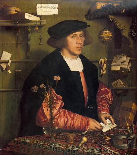 028-Portarretrato del mercader Georg Gisze 1532-Hans Holbein el Joven