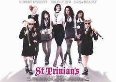 St Trinian or the disadvantage of living in a lazy illiterate thirdworld banana republic.