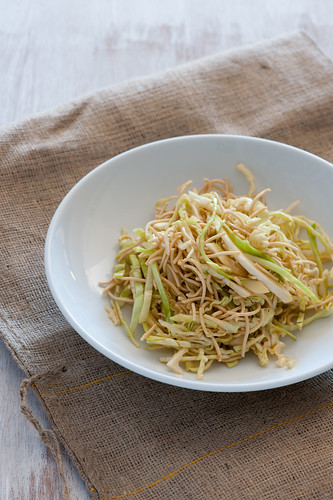 cabbage noodle salad