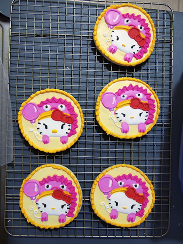 Custom Hello Kitty Cookies