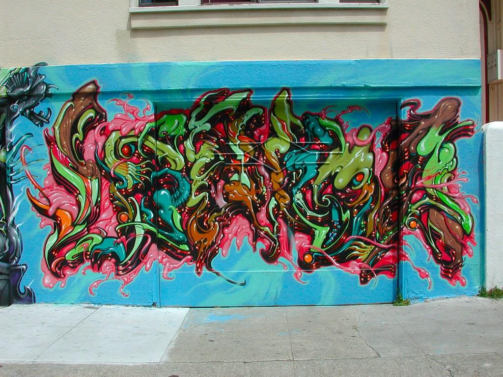 LANGO, Street Art, Graffiti, San Francisco