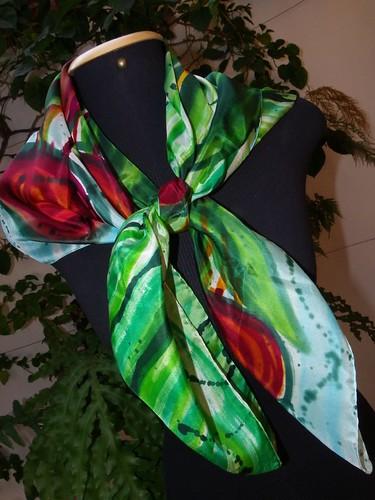 Como usar lenços de seda!!! by Atelier Mônica de Godoi