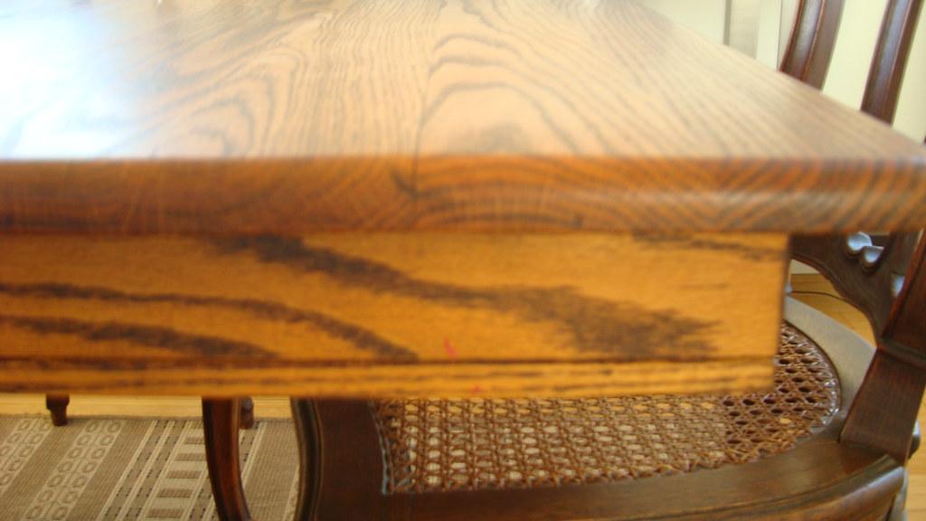 English Claw Foot Oak Pedestal Table