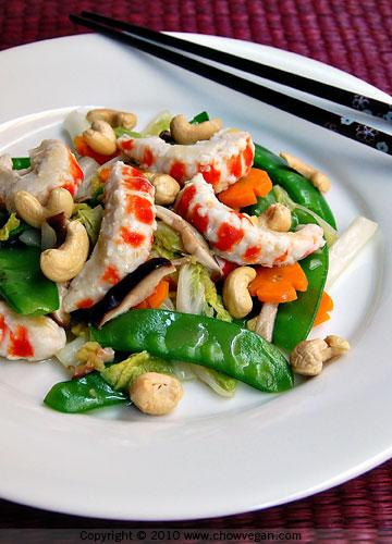 Cashew Veggie Shrimp