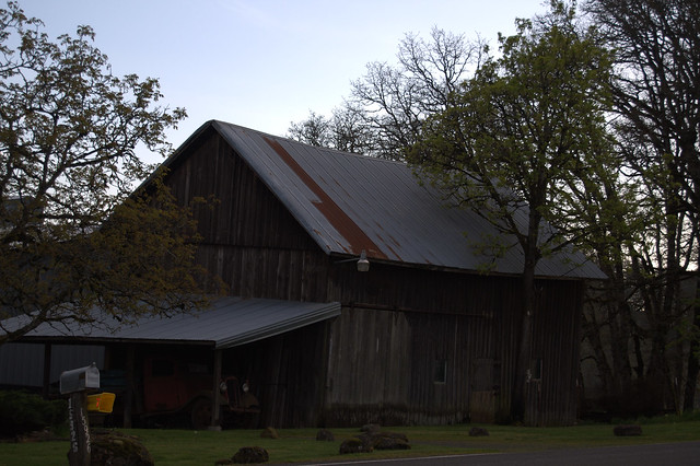 Oregon Barns