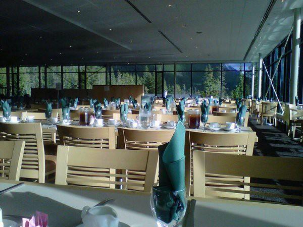Dinner alone. Very alone.