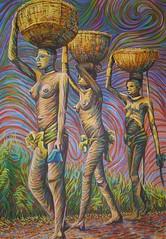 62 abc1  Artista Plástico Elvis da Silva e a Cultura Negra tema de sua pintura (Elvis da Silva Artista Plástico) Tags: do o negro elvis e da são negra cultura silva artista plástico temas