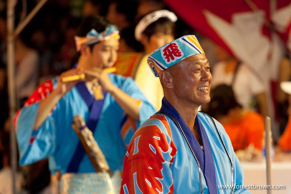 2010 Awa Odori Dance Festival in Koenji Tokyo