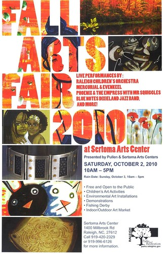 Fall Arts Fair 2010 (poster)