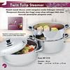 Twin Tulip Steamer, Rp.1.498.000,-