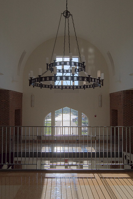 Christian Brothers College High School, in Town and Country, Missouri, USA - entrance foyer