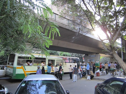 Bus Stop in Zamalek