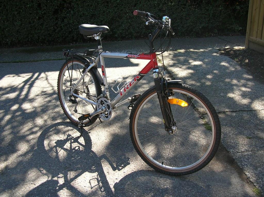 Upgraded bike
