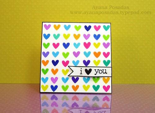 Mini- MultiColored LawnFawn Hearts (1)