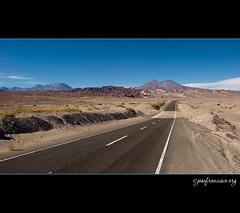 Hacia Toconao (josefrancisco.salgado) Tags: chile road nikon desert carretera desierto nikkor cl sanpedrodeatacama desiertodeatacama atacamadesert repúblicadechile reservanacionallosflamencos republicofchile d3s 2470mmf28g iiregióndeantofagasta provinciadeelloa