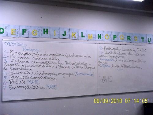 Rotina Prevista (09/09/2010)