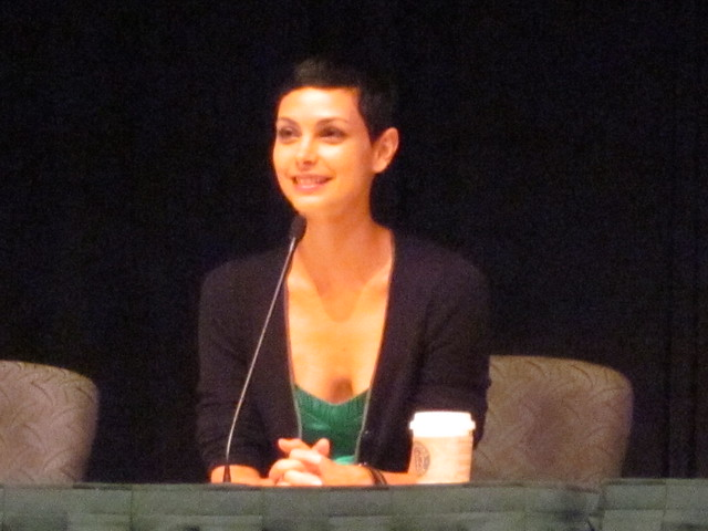 V Panel with Morena Baccarin (Anna) at Dragon*Con 2010