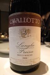 "2006 Cavallotto ""Bricco Boschis"" Langhe Freisa"