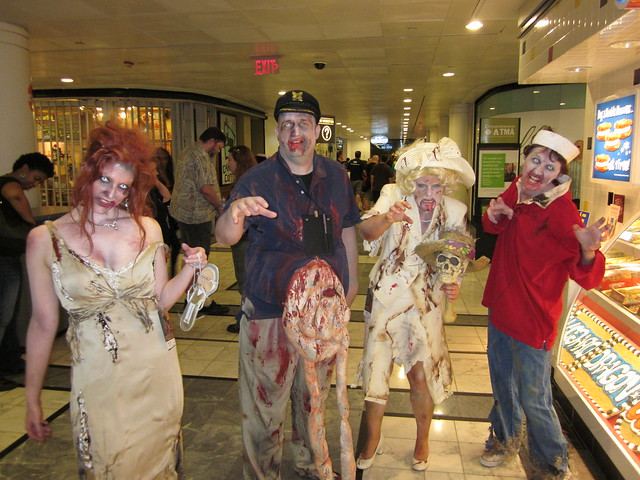 Gilligan's Island Zombies at DragonCon 2010