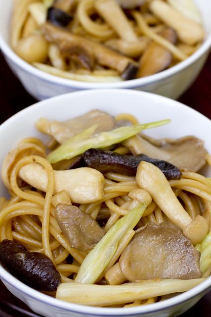Mushroom Lo Mein 8