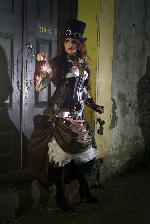 steampunk girl 6