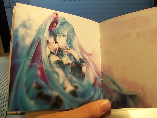 Artwork inside booklet