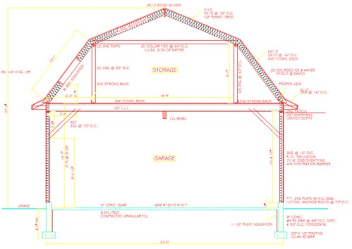 32x40 barnstyle garage build The Garage Journal Board – 32X40 Garage Plans