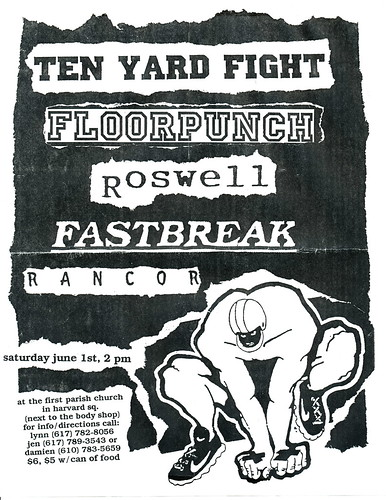Ten Yard Fight - Floorpunch - June 1st - First Parish Church