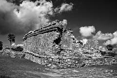 Tulun B&W (Oscar Zgz) Tags: blancoynegro mexico nikon tulum ruinas rivieramaya piedras grano blackanwhite d90 oscarcolas