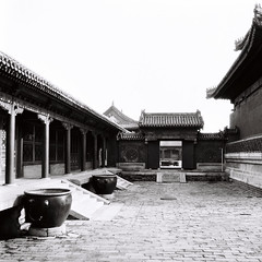 Bye, Andy (The Lost Egyptian Mau) Tags: city blackandwhite bw building film museum architecture temple hall beijing culture courtyard palace 北京 tradition 城市 建筑 黑白 紫禁城 故宫 传统 文化 theforbiddencity 博物馆 庭院 theimperialpalace 宫殿 胶片