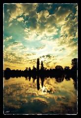 Sunrise (Letempofotos) Tags: sunrise soleil eau lac nuages refl