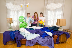 We're Pleased to Present You With... (laurenlemon) Tags: interestingness creative behindthescenes 2010 balloonanimals seafishing explored canoneos5dmarkii marycosta laurenrandolph laurenlemon tiwwi weekendofwonderment jessicakucinskas wwwphotolaurencom