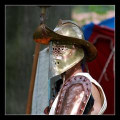 Essedarius gladiator armor
