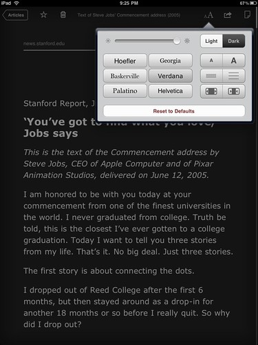 Instapaper for iPad (black)
