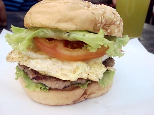 Pork burger SS2 wai sik kai 2