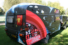 Sickboy - Roller Disco (nrkneil) Tags: uk urban streetart art colors bristol graffiti paint colours spray sickboy walls caravan graff aerosol stgeorge rollerdisco zap savetheyouth