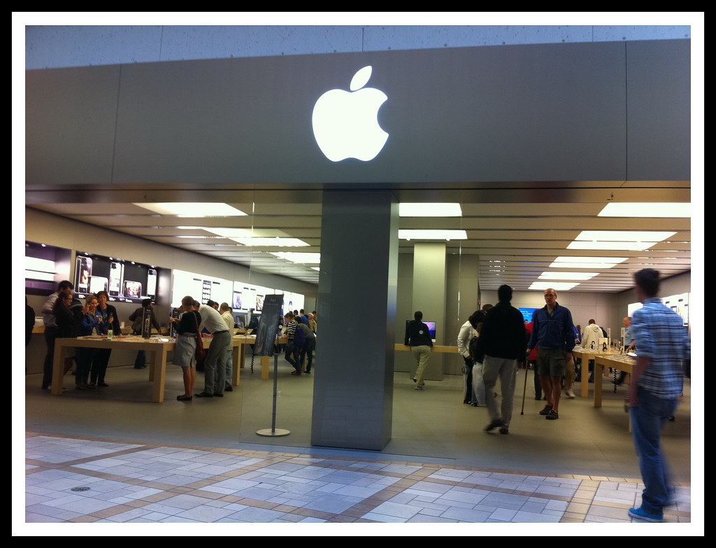 Apple Store in our Rideau Centre in Ottawa, Ontario