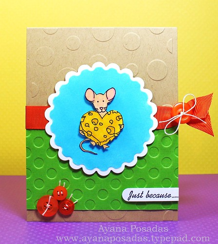 Cheesy Heart Mouse (1)
