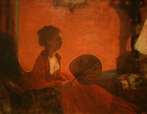 Madame Camus by Edgar Degas