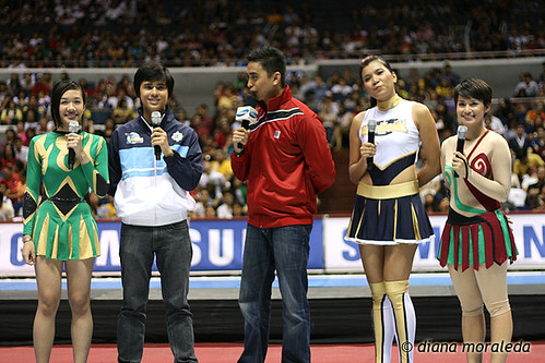 UAAP Season 73: Cheerdance Competition, Sept. 12, 2010
