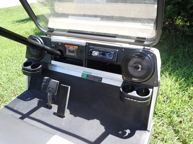 7 Awesome Golf Cart Mods moreover 291973249274 additionally  furthermore Custom Golf Carts Black Lightning besides Rad 044. on golf cart stereo mount