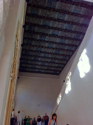 Palacio de La Aljaferia Ceiling