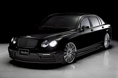Wald International Bentley Continental Flying Black Bison