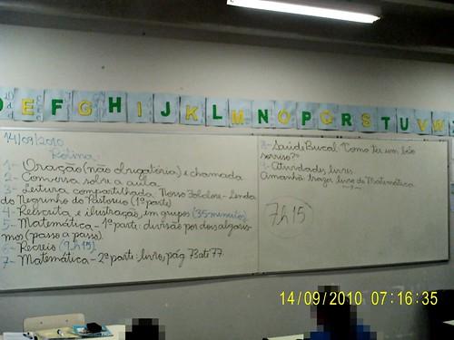 Rotina Prevista - 14/09/2010