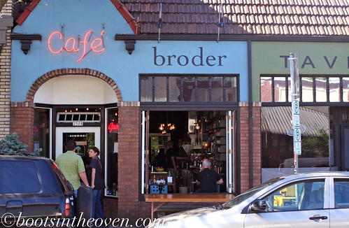 Front of Broder, Portland OR