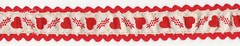 Hearts Ribbon (Calsidyrose) Tags: flowers vintage graphic retro ephemera hippie material ribbon cloth scrap picnik