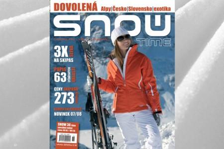 SNOW 36 TIME - VŠE O LYŽAŘSKÉ DOVOLENÉ - ALPY, ČESKO, SLOVENSKO...